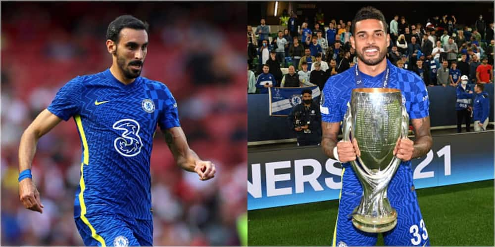 Emerson and Davide Zappacosta. Photos by Chloe Knott and Darren Walsh.