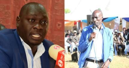 Former Cherangany MP Wesley Korir claims Kutuny is a maize cartel