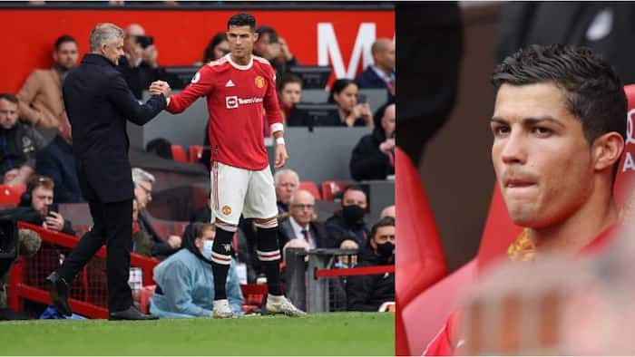 Cristiano Ronaldo Sends Message to Solskjaer After Being Benched Against Everton