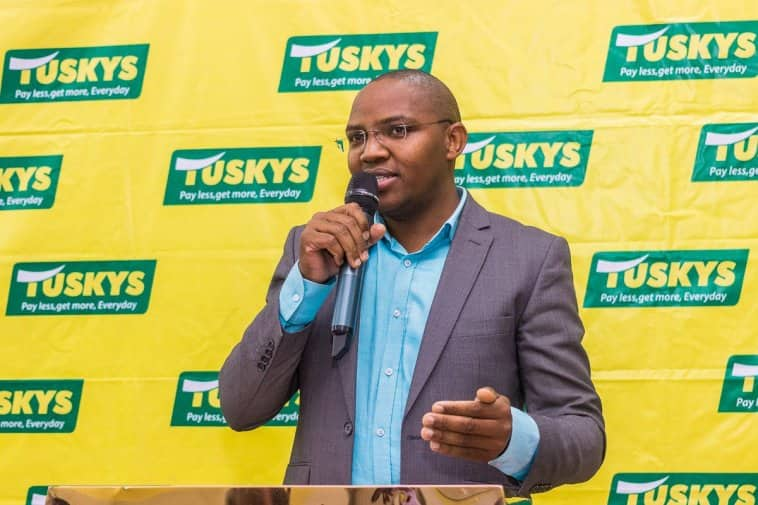 The company's CEO Dan Githua as earlier reported by TUKO.co.ke was once forced to apologise after the delayed payment of salaries citing cash flow problems. Photo: Tuskys