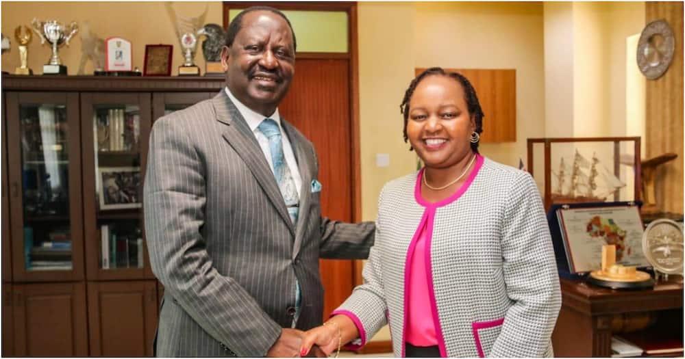 Governor Anne Waiguru's visit to Raila's office raises eyebrows