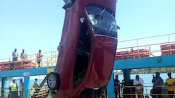 Likoni ferry: Car that plunged into Indian Ocean retrieved