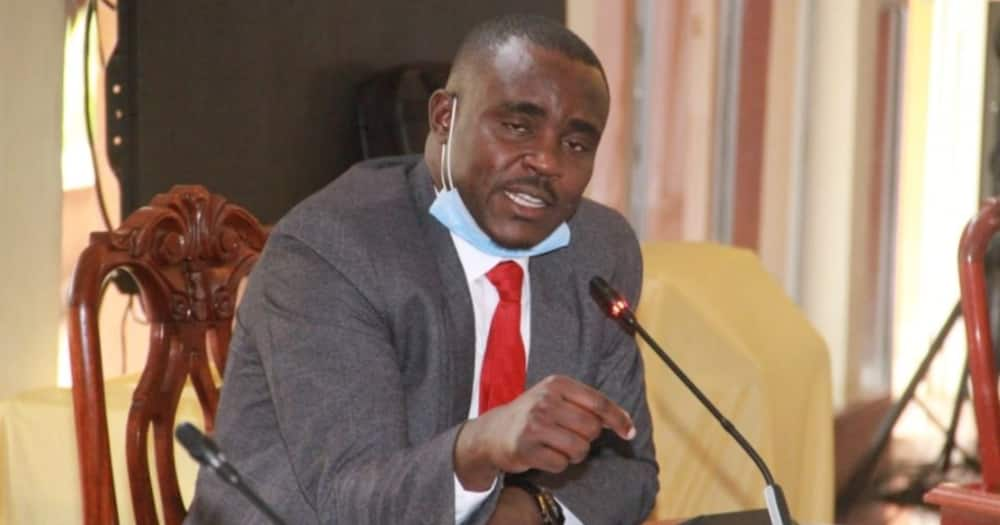 Senator Cleophas Malala breaks down as he pleads for more security