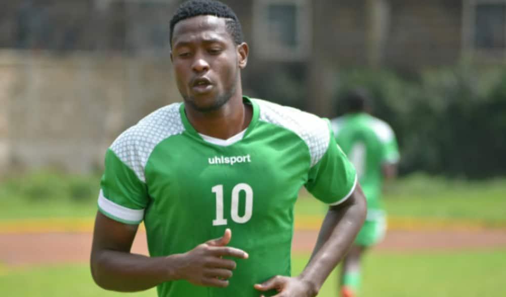 Harambee Stars striker Masoud Juma confirms he has contracted COVID-19