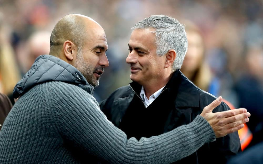 Pep Guardiola aims a dig at Jose Mourinho ahead of Premier League clash