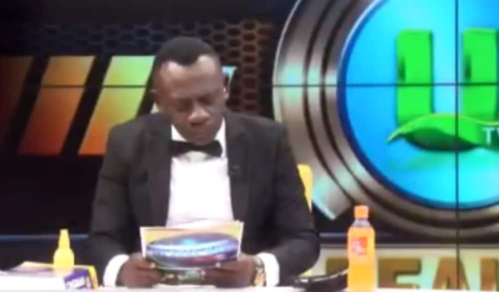 Ghanaian TV personality's hilarious score announcements tickles netizens online
