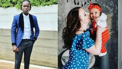 Willy Paul Flaunts Adorable Daughter, Mzungu Baby Mama on Social Media