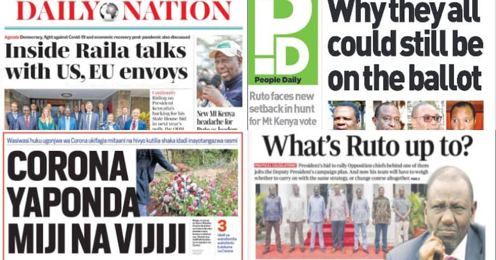 Kenyan Newspapers Review for August 13: Four Cousins Killed in Kajiado at Night