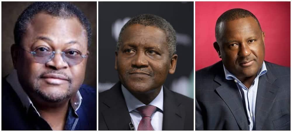 3 Nigerian billionaires make Forbes 2021 Africa's billionaires' list, Dangote leads again