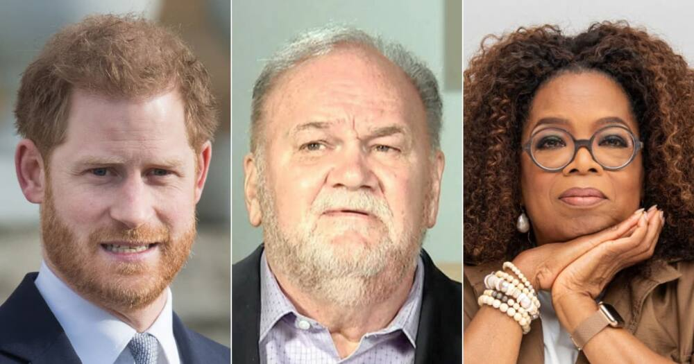 'She's Taken Advantage': Thomas Markle Accuses Oprah of Using Harry & Meghan