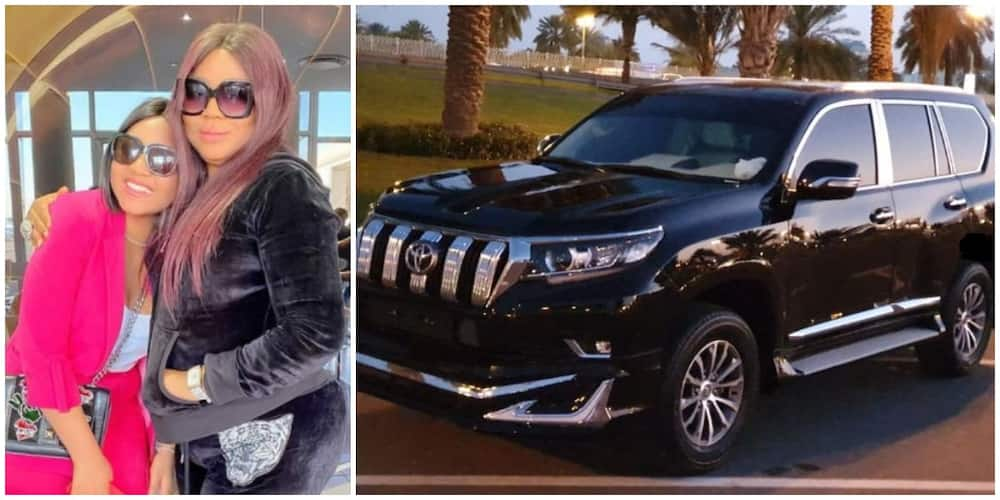 Nollywood actress Regina Daniels buys mum N15m Prado for her birthday