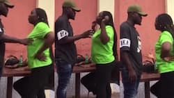 Mpango wa kando pushes man's wife into pool after they were caught chilling at a hotel
