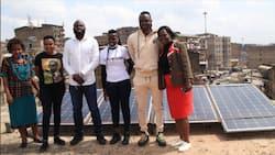 Harambee Stars Midfielder Victor Wanyama Donates Solar Panels to Rehabilitation Centre in Mathare