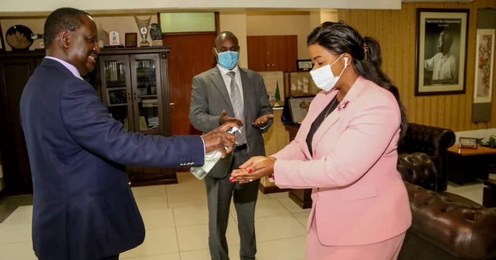 Raila afanya mazungumzo na mwandani wa DP Ruto nyumbani kwake