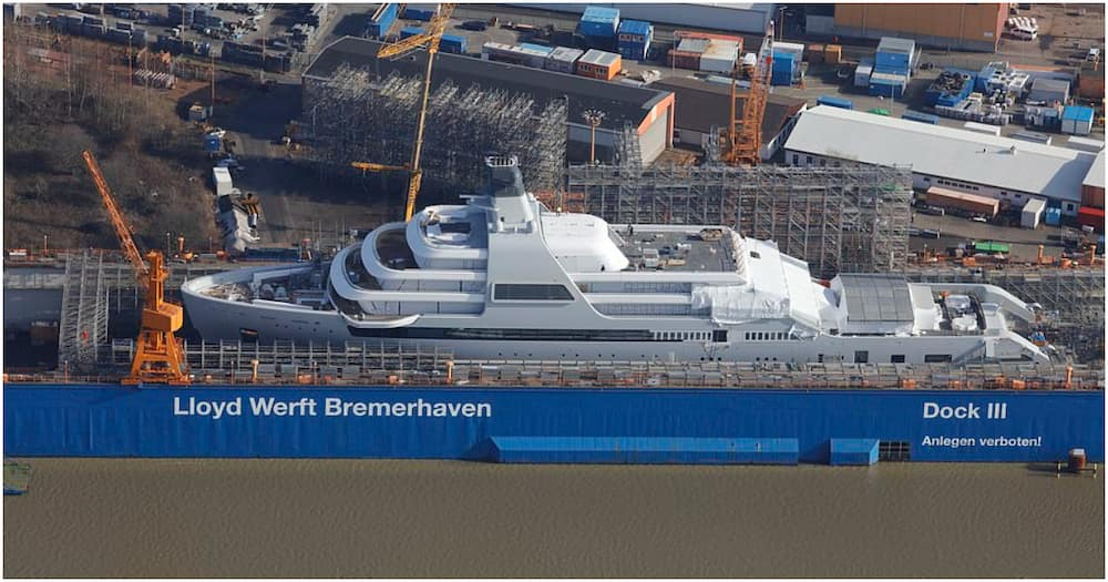 5 stunning photos of Roman Abramovich's KSh 66 billion superyatch Solaris as vessel nears completion