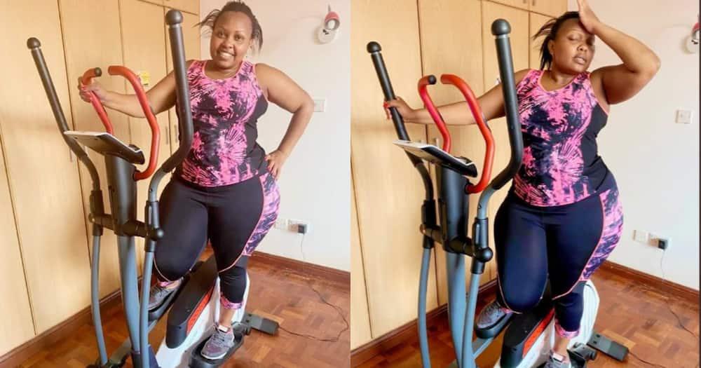 Seneta Millicent Omanga apata shepu mpya baada ya kukesha gym