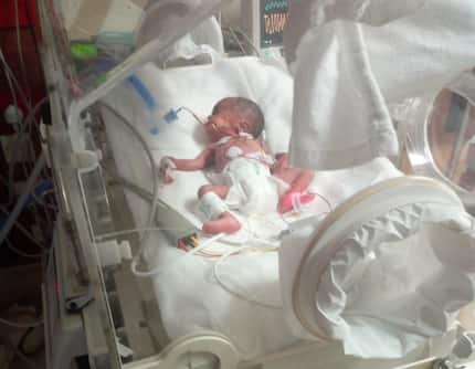 Nairobi couple seeks help for baby born 3 months early, bill approaching KSh 2M
