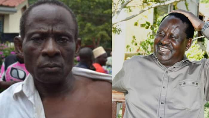 Mzee Aliyemrarua Raila Viboko Mgongoni huko Kwale Ataka Handisheki