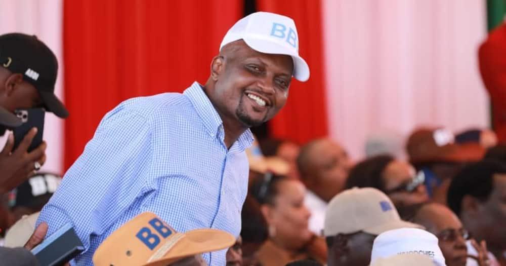 Gatundu South MP Moses Kuria during BBI function.
