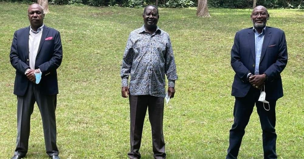 """Mudavadi Downplays Political Engagement Between Gideon, Raila: """"Maybe They Discussed Dowry"""""""
