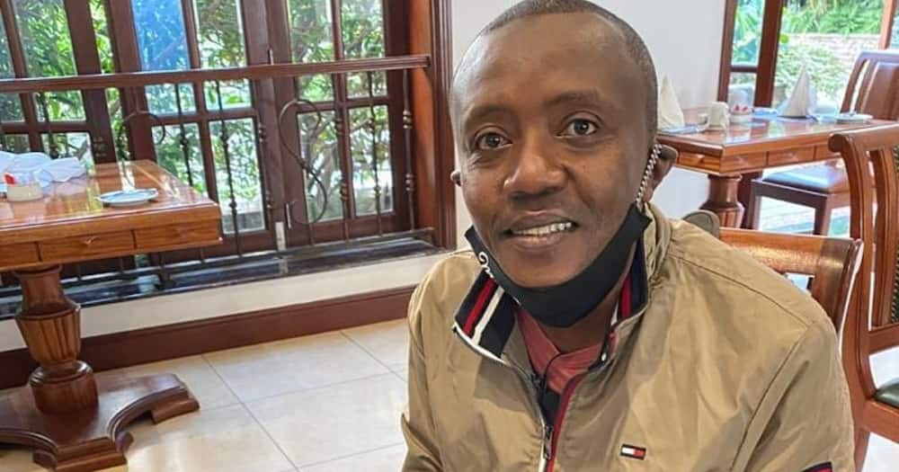 """Maina Kageni pays tribute to late Bob Collymore in touching post: """"You were on my mind"""""""