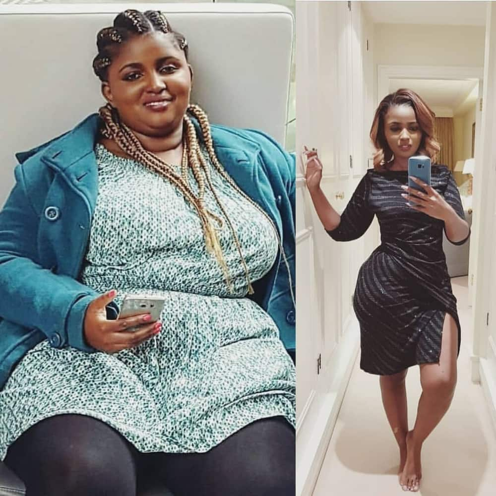 Anerlisa Muigai weight loss surgery