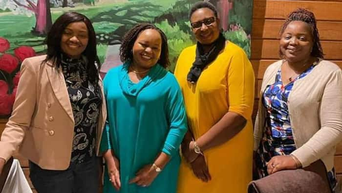 Anne Waiguru Signals Next Move as She Hangs out with Female UDA Politicians