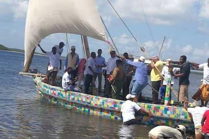 Kenyan boat made from plastic waste to make maiden voyage to Zanzibar
