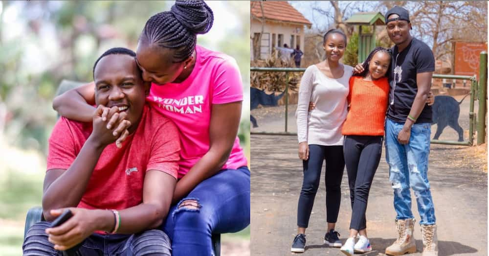 Abel Mutua, never-aging wife serve couple goals during sweet vacay