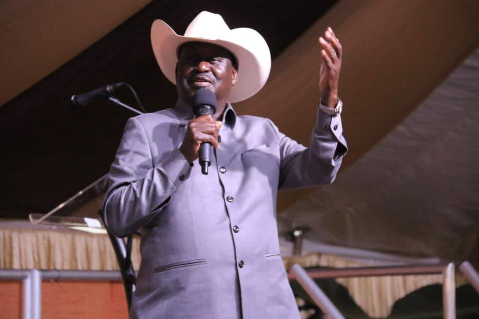 Raila wants politicians donating sacks of money to churches jailed