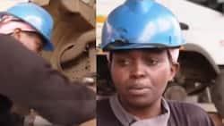 Lilian Wanjiku: Meet Iconic Mechanic Who Repairs Uhuru Kenyatta's High End Vehicles