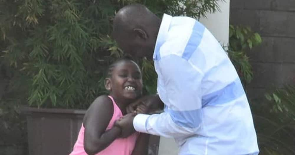 Nadia Cherono: 5 photos of William Ruto's adopted daughter sharing family moment with DP