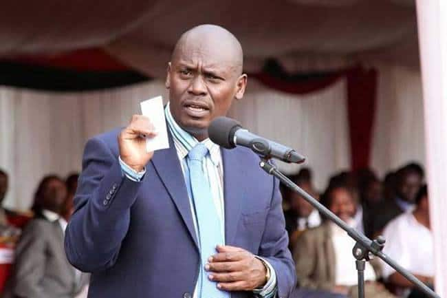 Ex-Kiambu governor William Kabogo wants Uhuru to ensure 2019 sens