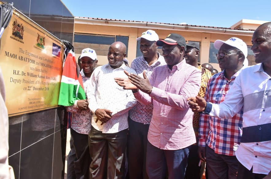 William Ruto warns his allies against insulting opponents