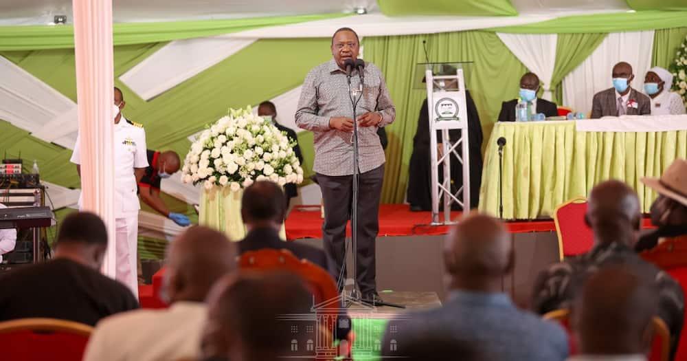 Uhuru's speech at Mama Hannah Mudavadi's funeral angers Ruto's allies