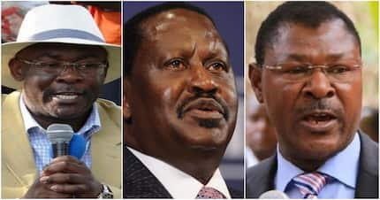 Raila Odinga endorses Wetang'ula's brother as next Nairobi governor