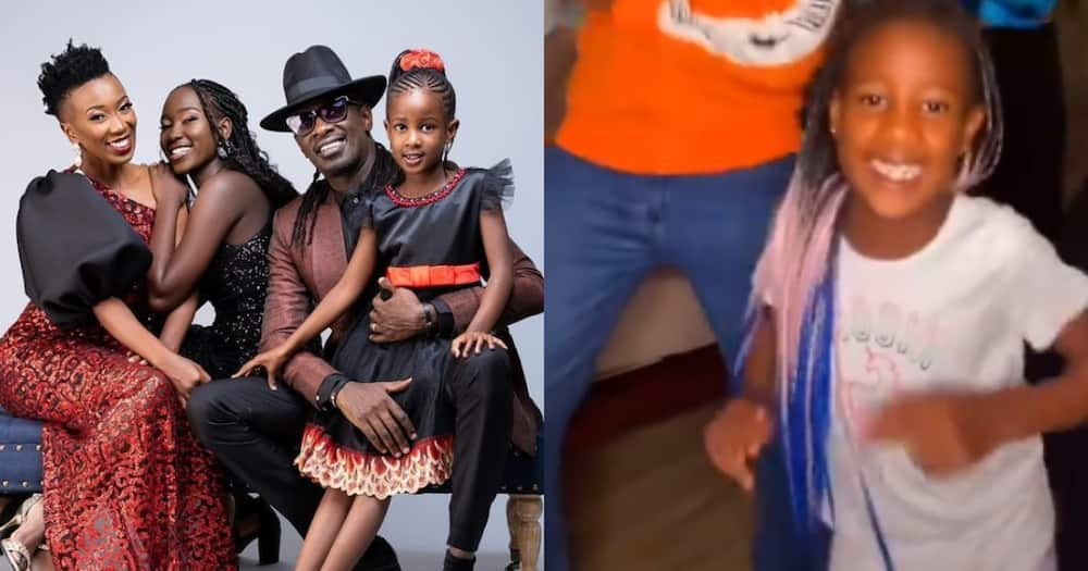 Nameless and Wahu's 7-year-old daughter wows many with amazing dance moves