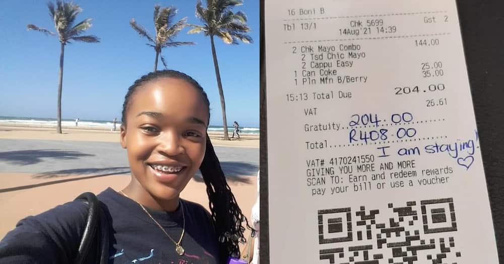 Locals, react, generous massive tips, waiters