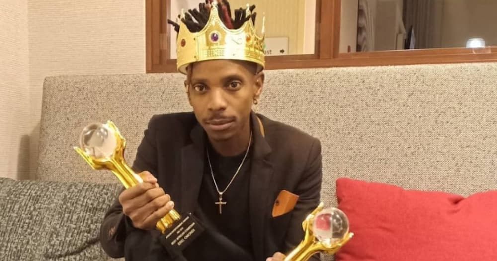 I'm Not Your Children's Role Model, Comedian Eric Omondi Says