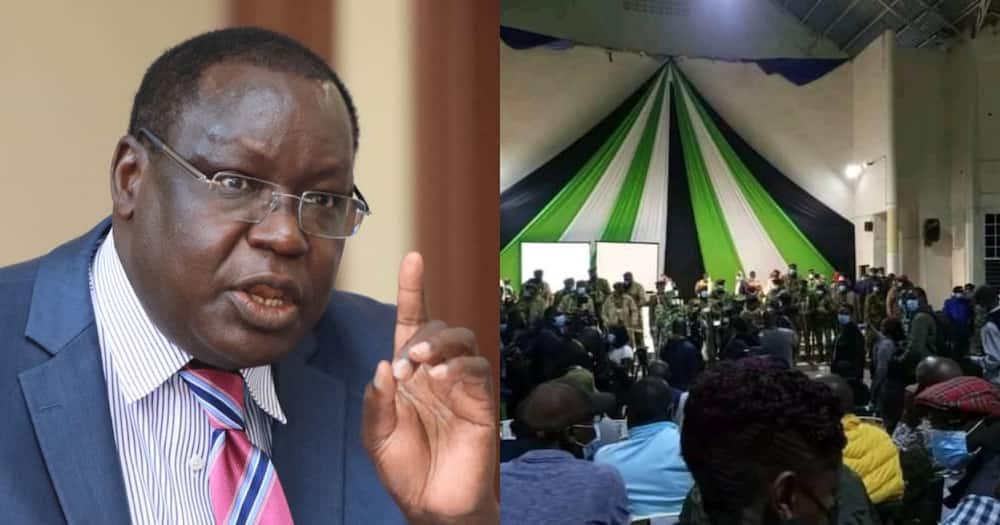James Nyoro in Trouble as Moses Kuria Meets Kiambu MCAs to Plot Governor's Impeachment