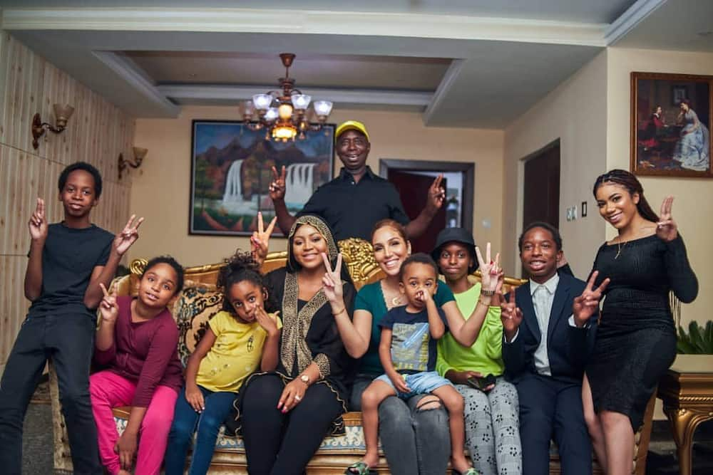 Ned Nwoko wives and children