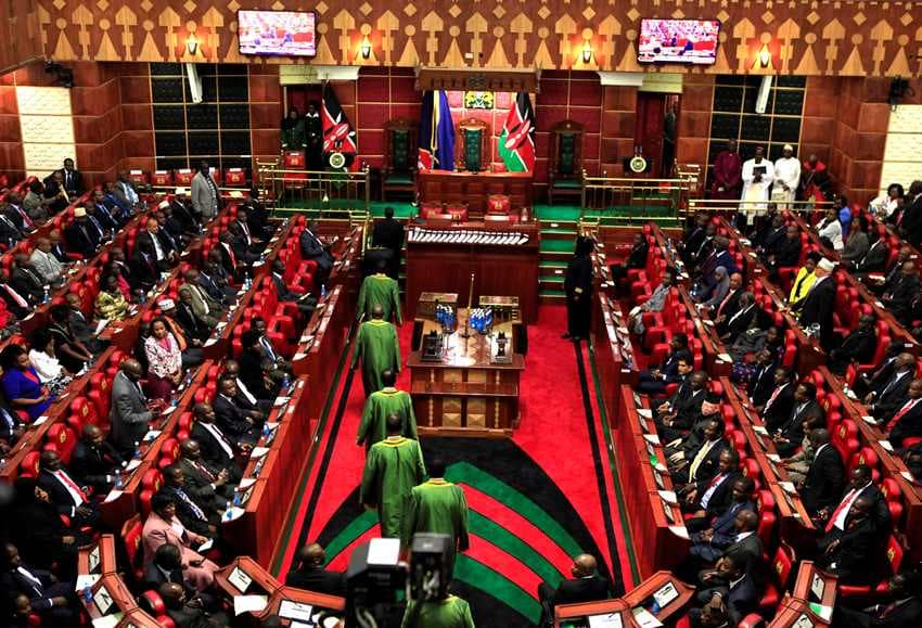 Two-thirds gender rule Kenya