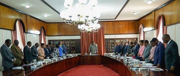 Mawaziri wa Rais Uhuru wakosa kusalimiana wakati wa mkutano wao