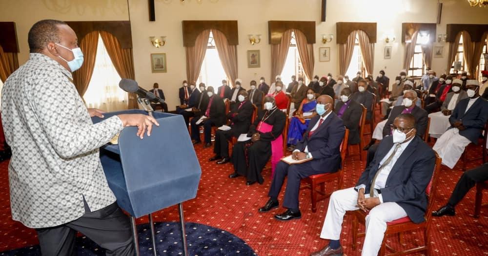 Rais Uhuru awahimiza viongozi wa dini kukemea ufisadi bila uoga
