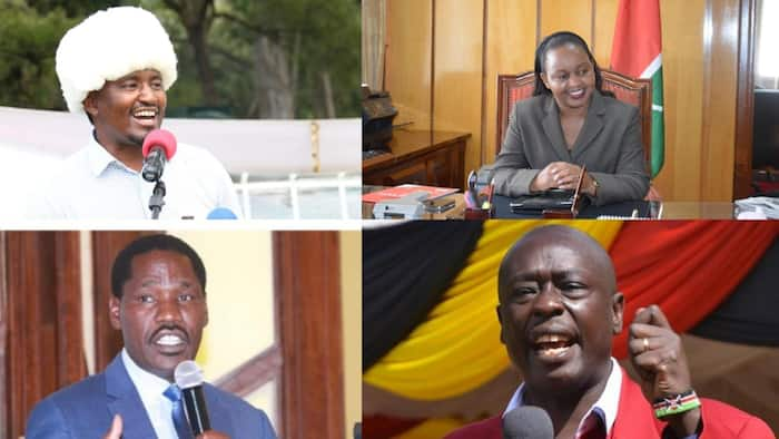 List of 9 Potential Running Mates from Mt Kenya William Ruto's Camp Has Identified