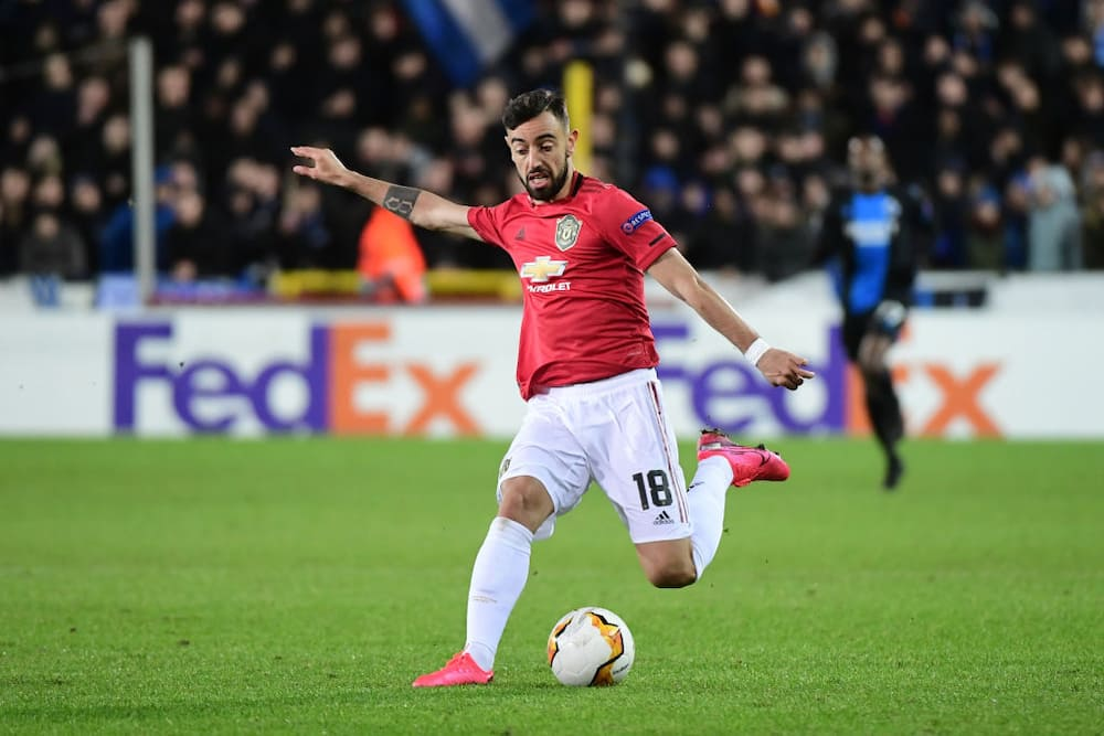 Bruno Fernandes says he is excited to play alongside Pogba in midfield