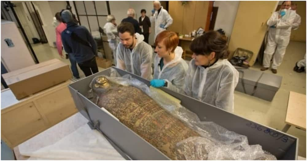 Egyptian Mummy Thought to be Priest Turns Out to be First Preserved Pregnant Woman