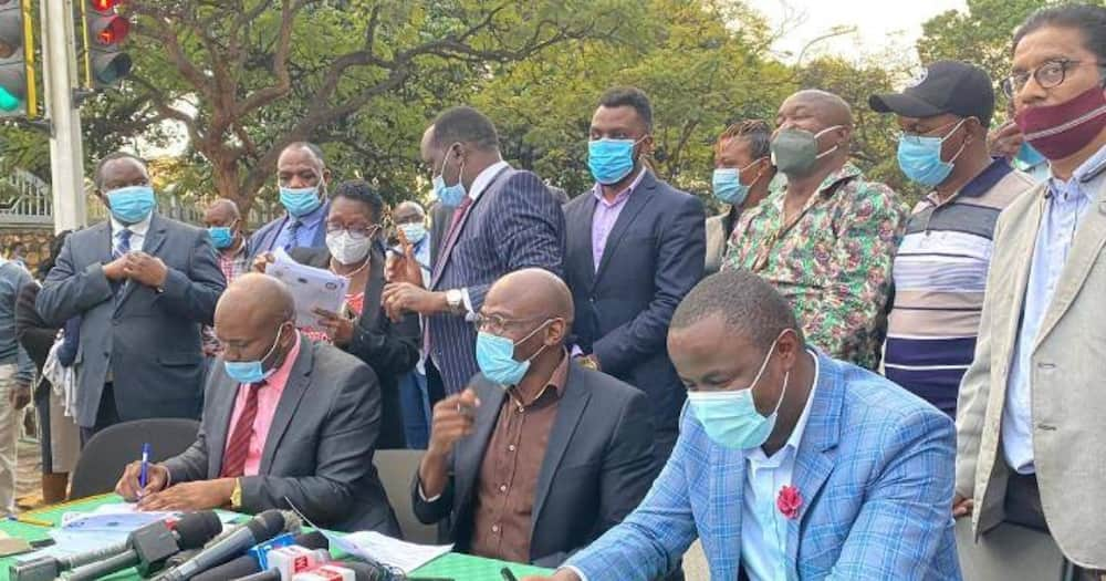 Nairobi medics down tools again accusing NMS of failing to keep its promise