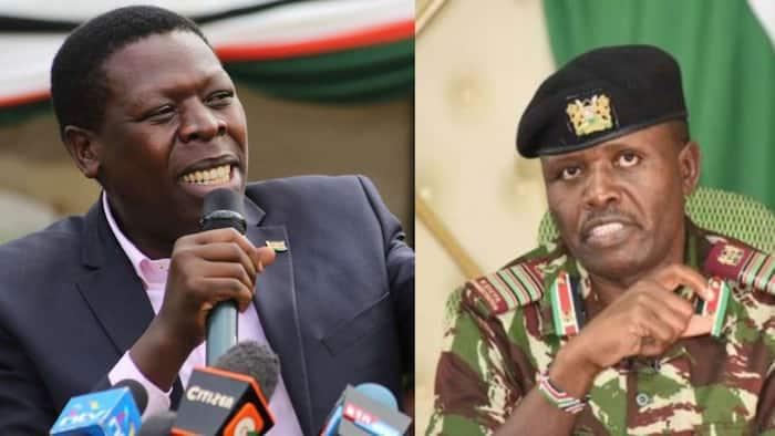 Trans Nzoia Gubernatorial Race Hots Up as CS Wamalwa Endorses George Natembeya