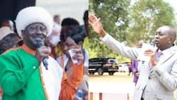 "Oscar Sudi Welcomes Raila Odinga in Eldoret, Urges Locals to Embrace Him: ""Karibu Baba"
